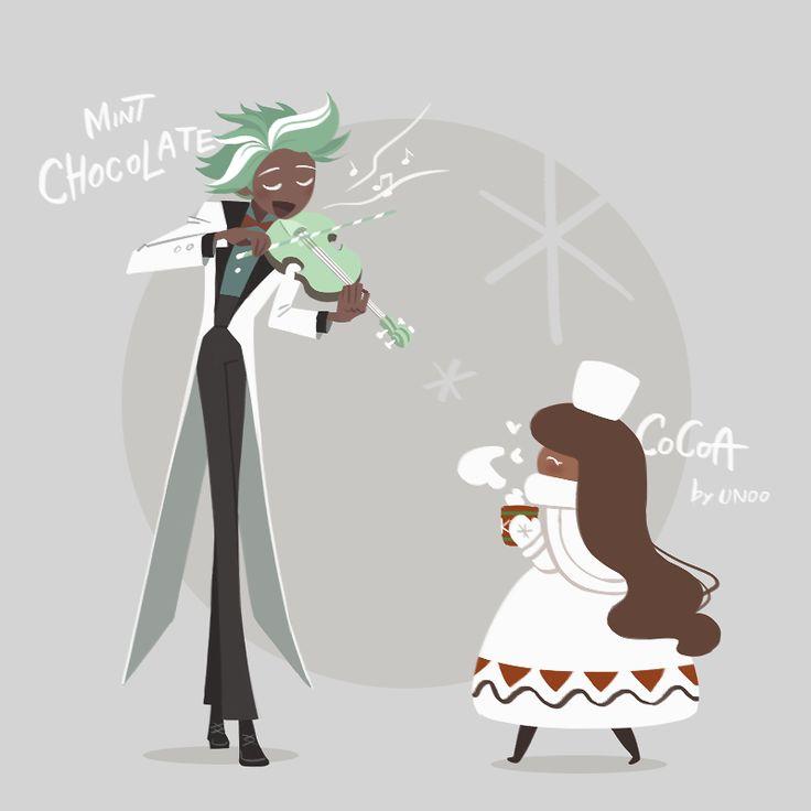 mint choc and cocoa