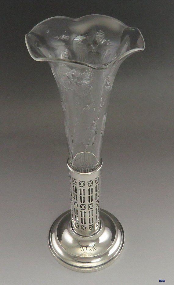 Pin On Antique Vintage Flower Vases