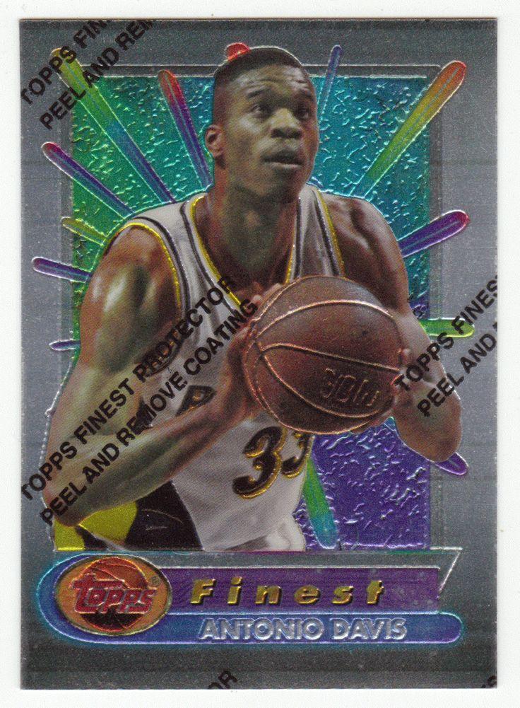 Antonio Davis # 24 - 1994-95 Topps Finest Basketball