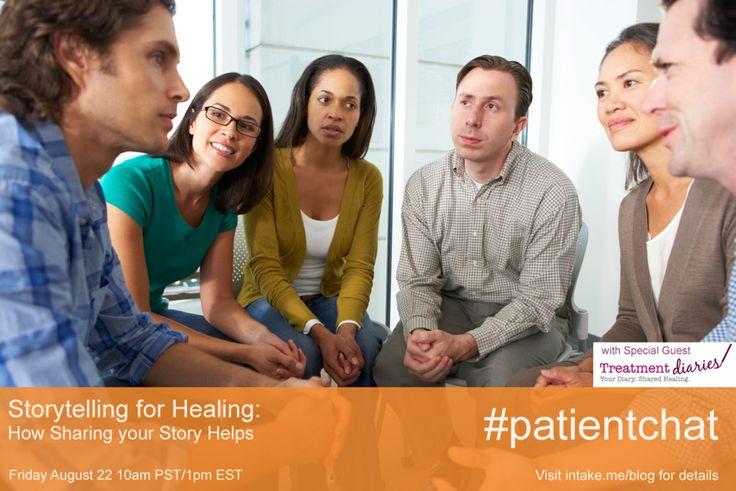 This Friday: Storytelling for Healing: How Sharing your Story Helps #patientchat http://www.intake.me/this-friday-storytelling-for-healing-how-sharing-your-story-helps-patientchat/?utm_campaign=coschedule&utm_source=pinterest&utm_medium=Intake.Me%20(Intake.Me%20Blog)&utm_content=This%20Friday%3A%20Storytelling%20for%20Healing%3A%20How%20Sharing%20your%20Story%20Helps%20%23patientchat