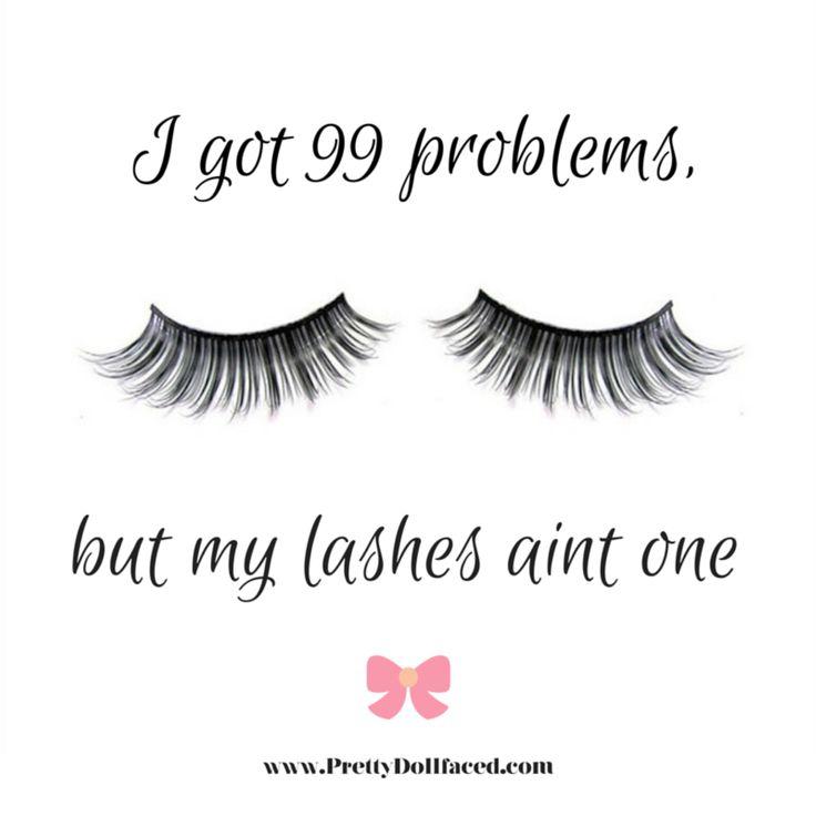 Truth. #Lashes #MakeUpMeme Visit http://prettydollfaced.com/