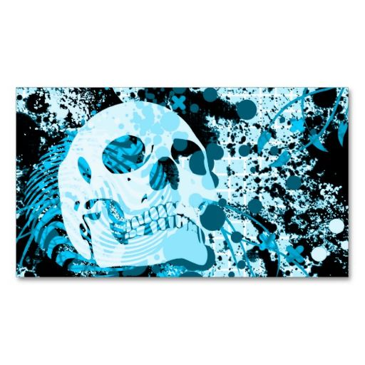 95 best tattoo artist business cards images on pinterest business hi fi skull business card accmission Gallery