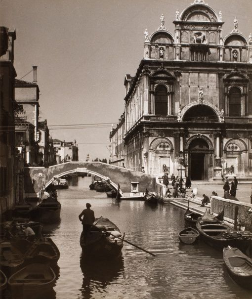 Jan Lauschmann (1901 - 1991) Benátky, 1935