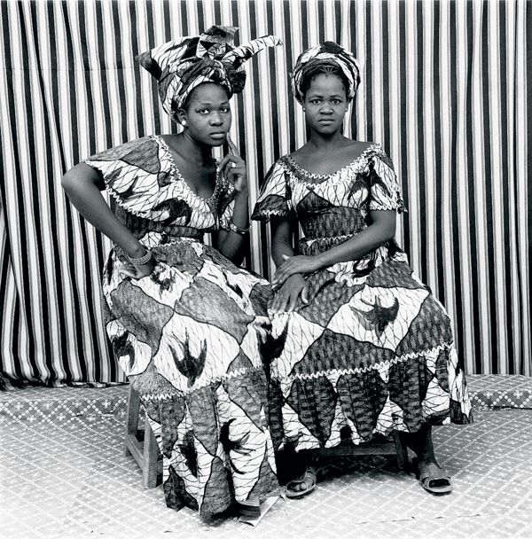Photographer Malick Sidibé in 1962, photographing post-colonial Mali