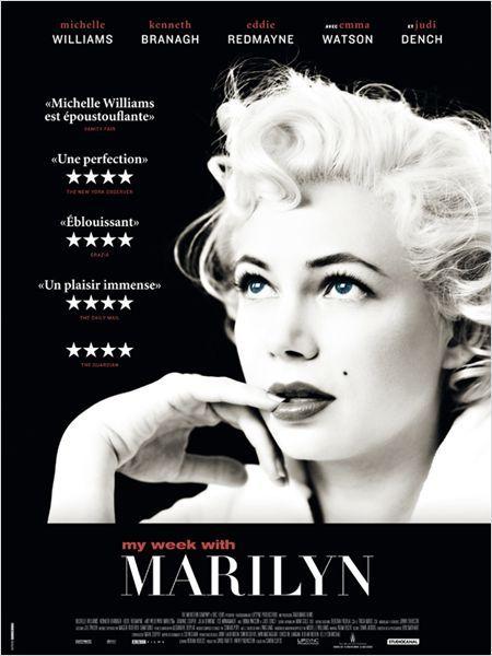 3/5: Une histoire platonique d'amour platonique… mais la performance de l'actrice jouant Marylin est très très bluffante - pour l'image que j'ai de la star en tout cas!