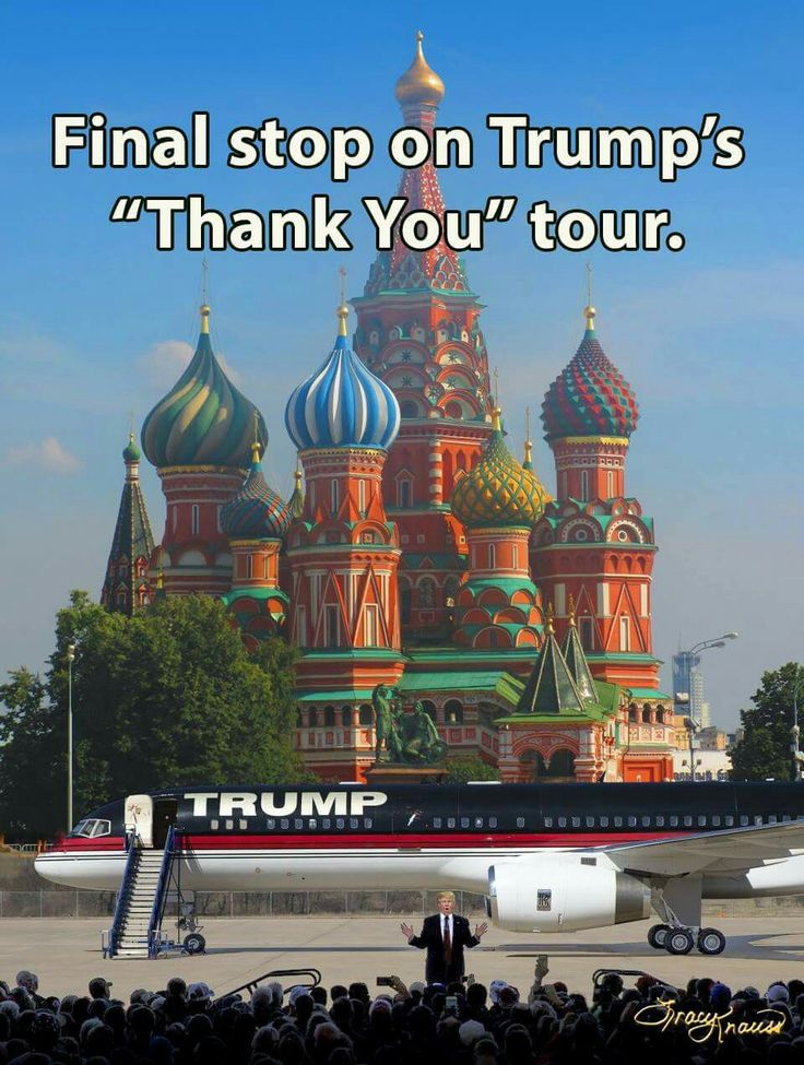 Final stop on Trump's Thank You tour: Moscow