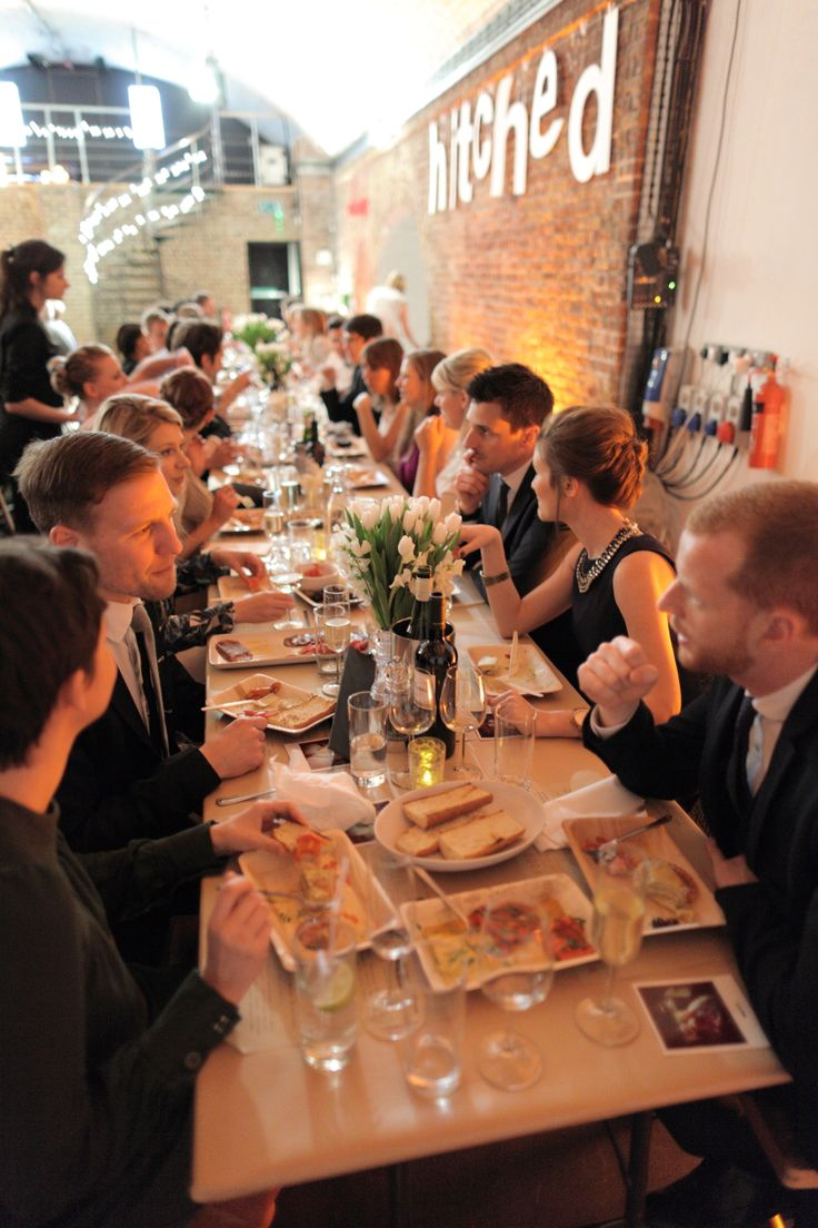 Wedding venues east london sausage