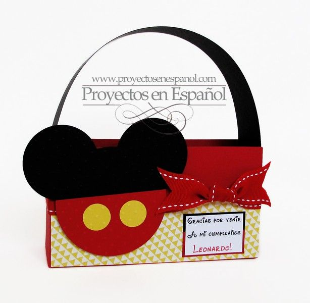 Mafer's Creations: MICKEY MOUSE BOXES - CAJAS SORPRESAS DE MICKEY MOUSE