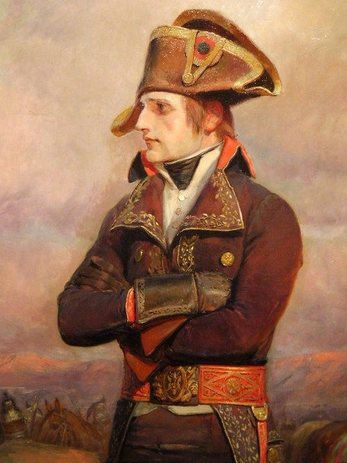 General Bonaparte in Italy by Edouard Detaille - From a interesting Tumblr blog on male beauty. DO NOT visit it if you are uncomfortable with (artistic) male nudity!
