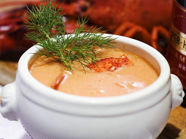 Krämig hummersoppa (kock Stefan Jonsson)