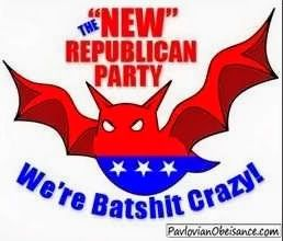 The NEW Republican Party!  VOTE THE GOP OUT in 2014!