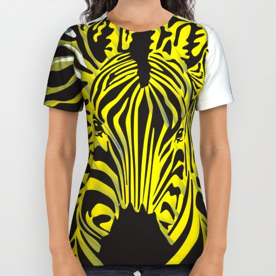 Zebra Africa All Over Print Shirt