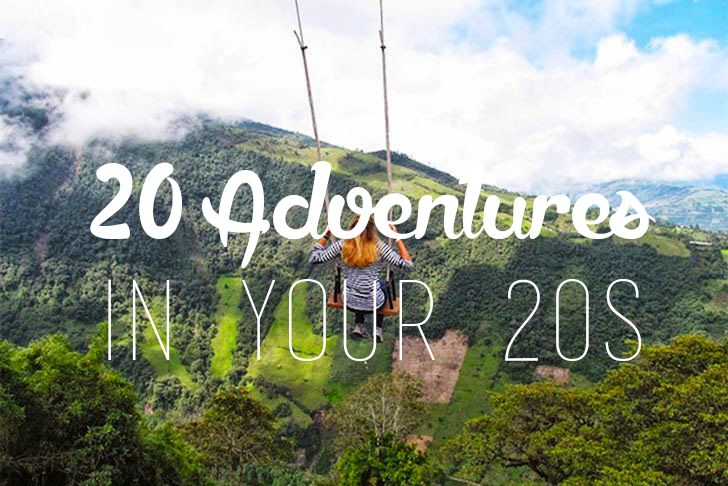 These are the top adventures and things to do in your 20s. If you are young and want fun, crazy and interesting things to make the most of your 20s, read this.