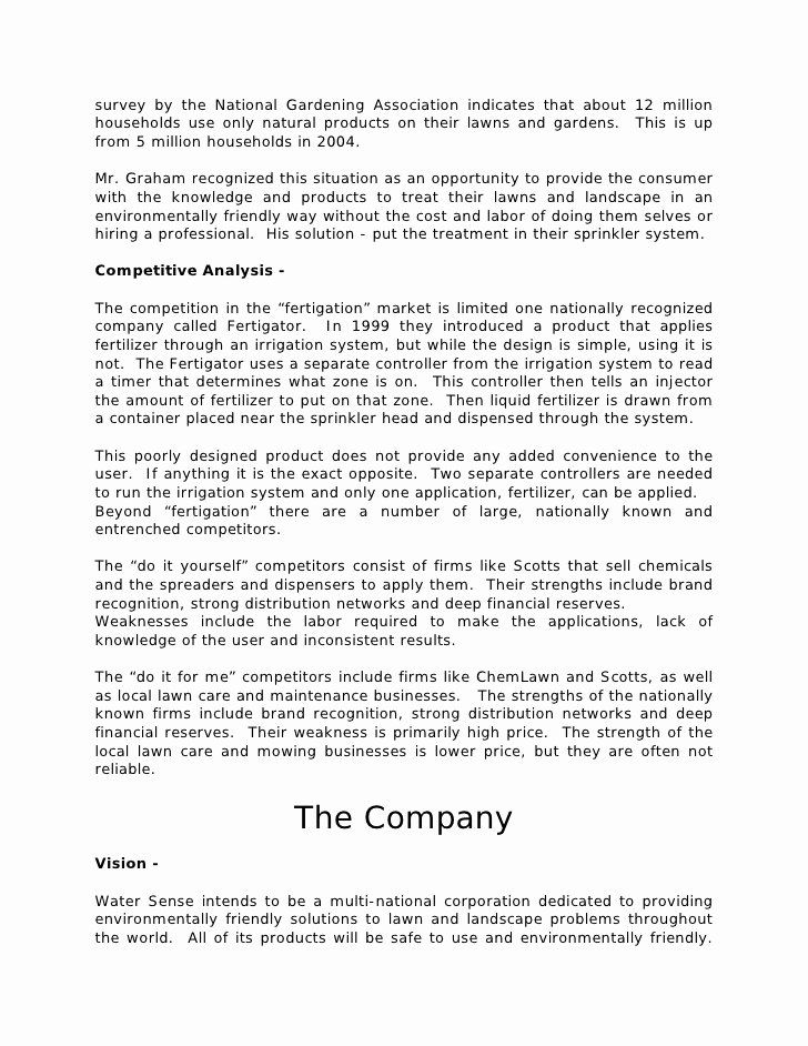 Lawn Care Business Plan Template Free from i.pinimg.com
