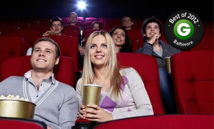 $ 11 for Movie with Popcorn and Soda on Monday–Thursday or Friday–Sunday at Hoyts West Nursery Cinemas (Up to $ 23 Value) in Linthicum. deal price: $1