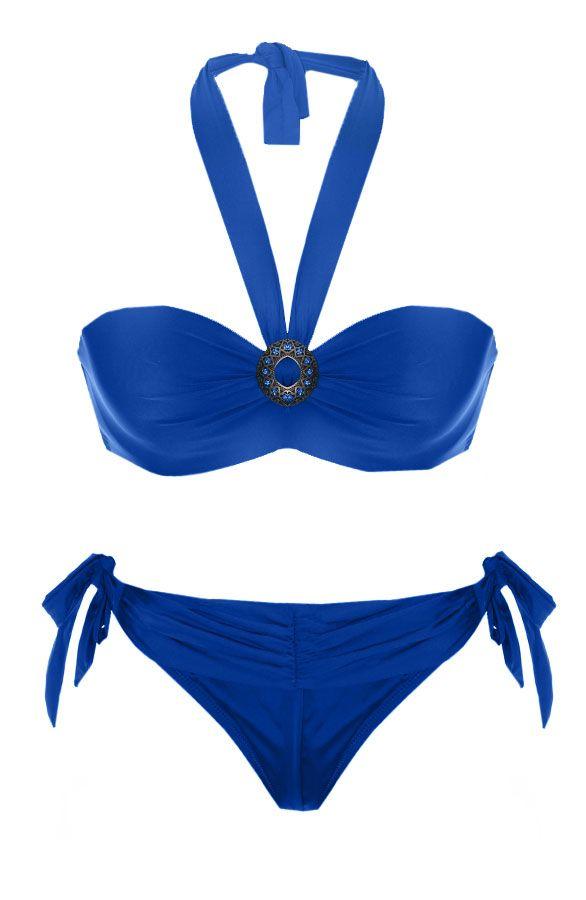 Bohemian Bikini Kobalt | The Musthaves Het bikini seizoen is geopend! Shop jouw Ibiza en bohemian bikini goedkoop bij TheMusthaves.nl en straal deze zomer!