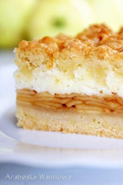 Apple pie with foam pudding - recipe
