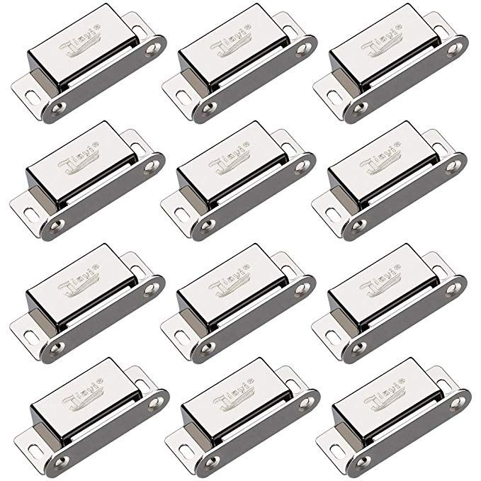 Cabinet Magnets Jiayi 12 Pack Magnetic Door Catch Heavy Duty 15lbs