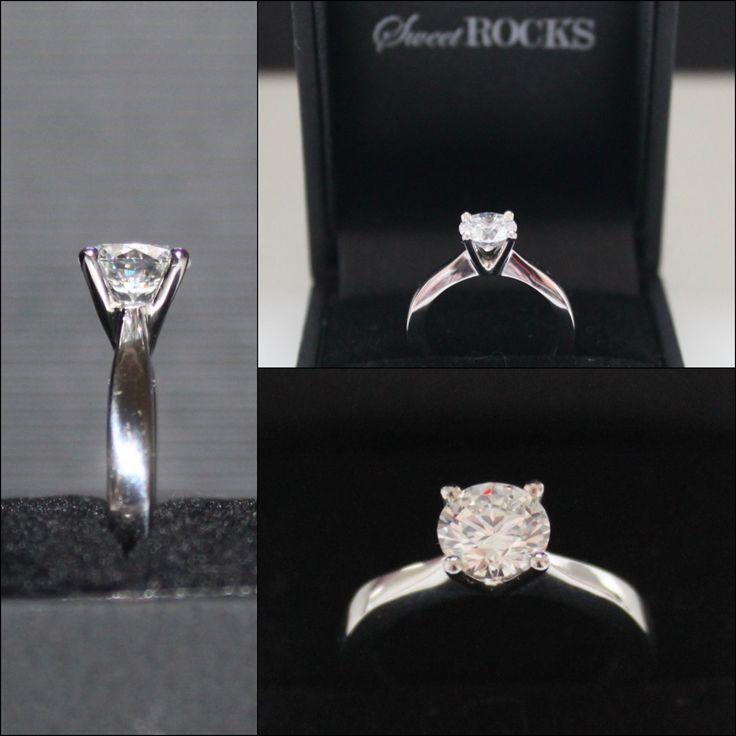 #förlovningsring #diamantring #solitär #vigselring #Sweetrocks