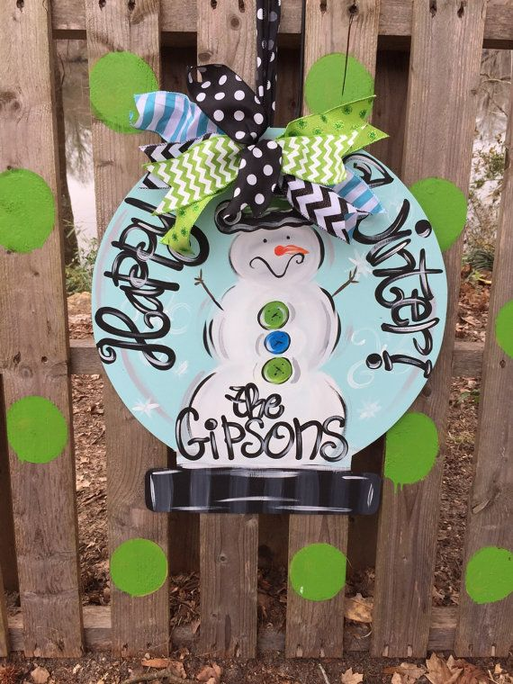 Best Front Door Decor Images On   Christmas Crafts