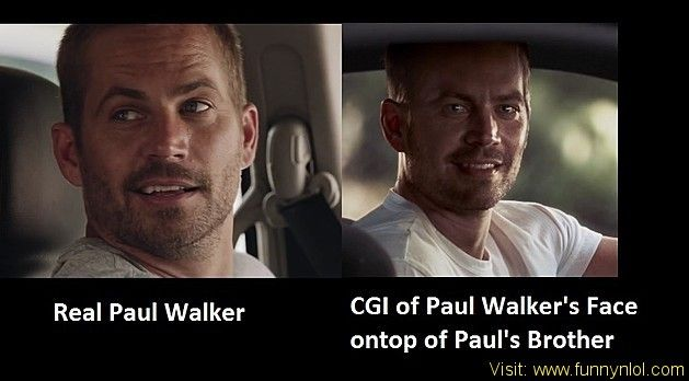 How 'Furious 7' Created a CGI Version of Paul Walker For His Unfinished Scenes by http://www.funnynlol.com/informative/furious-7-digital-paul-walker