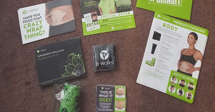 It Works Business Builders Kit!   I wanted to share with you what comes in the It Works Business Builders Kit...    Ultimate Body Appl...