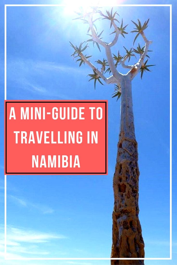 A Mini-Guide to Travelling in Namibia