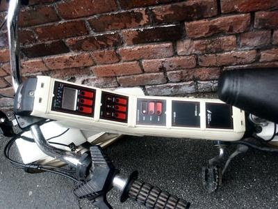 Raleigh Vektar- complete with onboard computer.