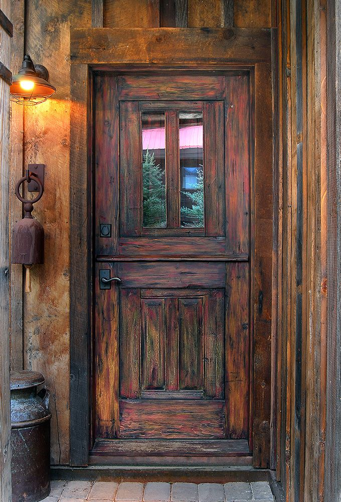 Dutch Door La Puerta Originals Rustic Entry Doors Rustic Doors Rustic Front Door