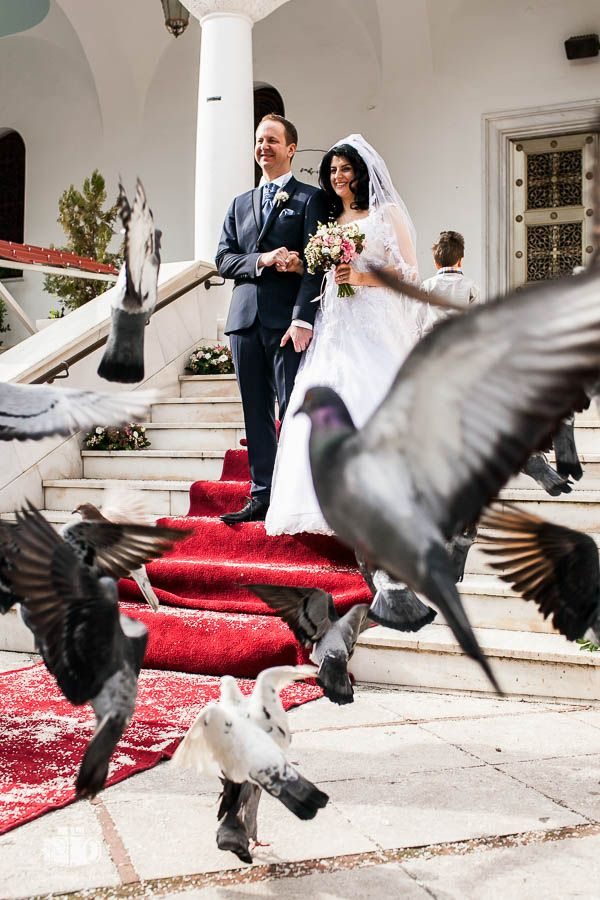 Wedding in Panagitsa Paleo Faliro for Parthena & Jochen - Γάμος στην Παναγίτσα Παλαιό Φάληρο