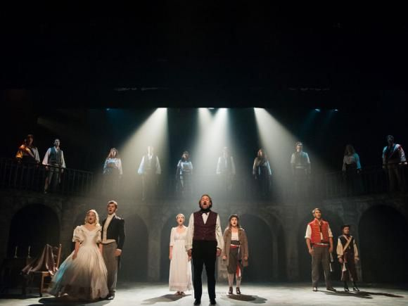 Cast of #Les Miserables  at the #ArtsClub #Vancouver theatre 2015. Photo by Ross den Otter.