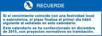 Contabilidad y Fiscalidad: LA AGENCIA TRIBUTARIA PUBLICA EL CALENDARIO DEL CO...