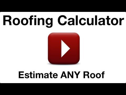 Roofing Calculator V 2.0   Released On App Store And Android Market In July  2012