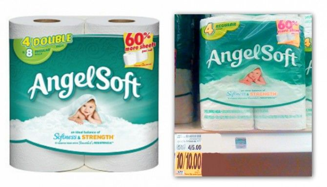 Angel Soft bath tissue is on sale right now at King Soopers. Use a printable coupon to get this bath tissue for free!