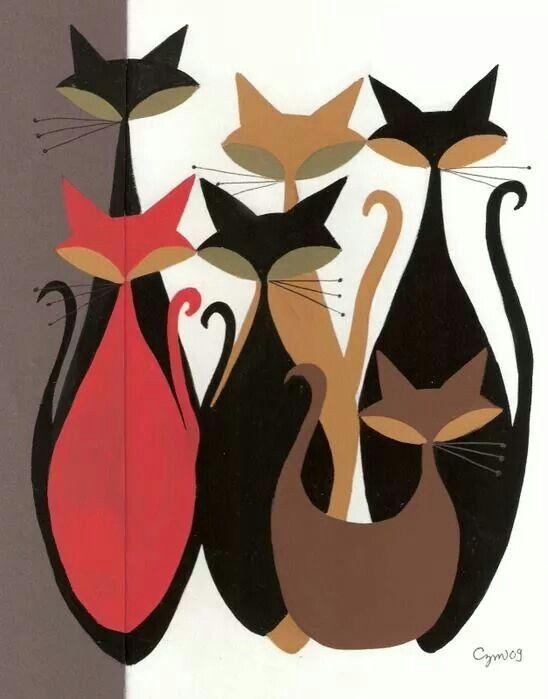 Gatos, apliques