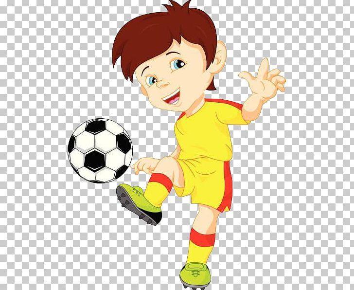Football Player Illustration Png Boy Cartoon Child Computer Wallpaper Fictional Character Football Players Illustration Png