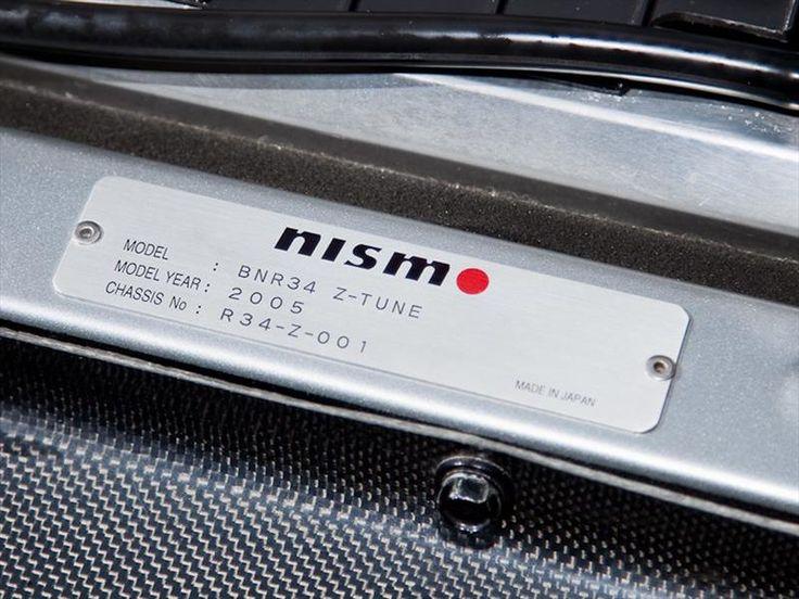 Nissan Skyline GT-R 34 Nismo Z-Tune #001