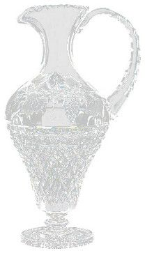 Waterford Crystal Vineyard Copper Wheel Engraved Pitcher 159434 transitional-pitchers