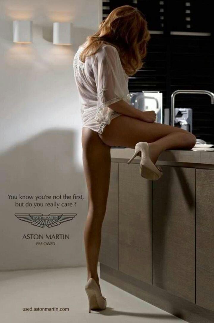 Quand Aston Martin fait de la pub pour ses occasions... thats funny.