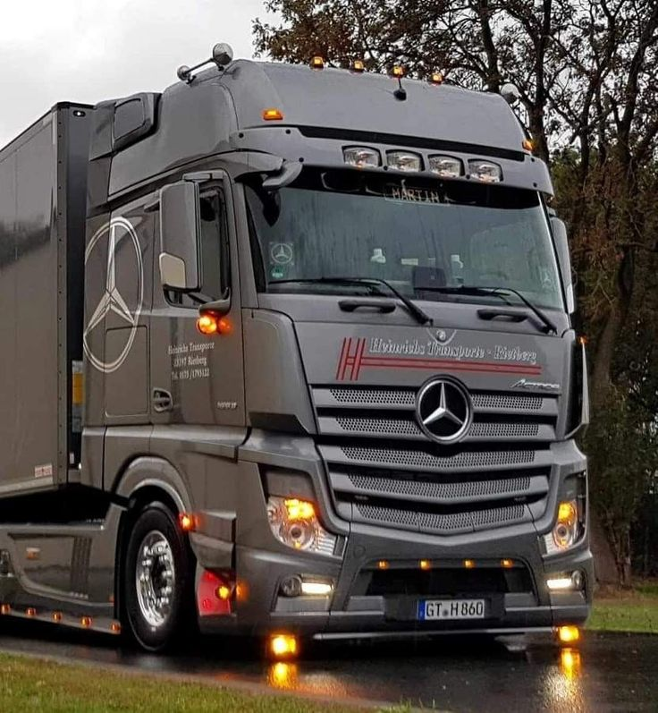 Pin auf Mercedes Actros MP4/MP5