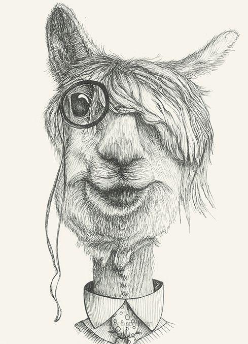 https://flic.kr/p/DeMvcd   Mr Blade #blade#animals#drawing#glasses#dandy#elegant by Leo Bellei