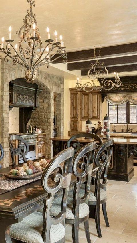 Fall Interior Decorating Ideas 2019 Mediterranean Old World, Mediterranean, Italian, Spanish & Tuscan Homes Design