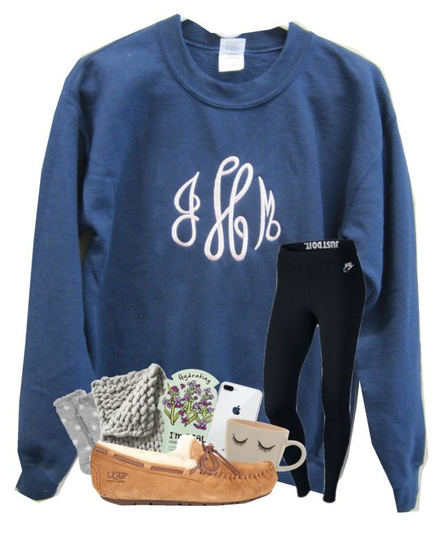 """""""I'm so tired"""" by magsvolleyball2 ❤ liked on Polyvore featuring NIKE, Charter Club, Serena & Lily, TONYMOLY and UGG"""