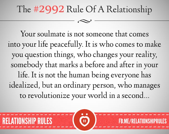 #2992, Facebook, The rules of a relationship