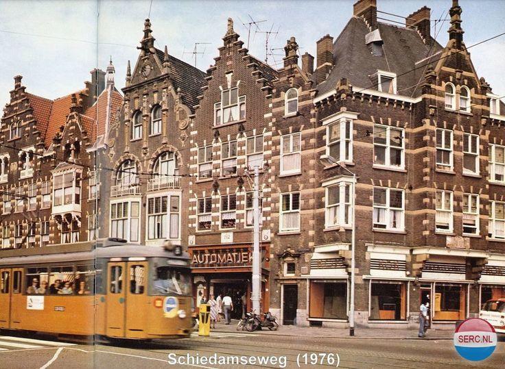 Schiedamseweg Rotterdam (jaartal: 1970 tot 1980) - Foto's SERC