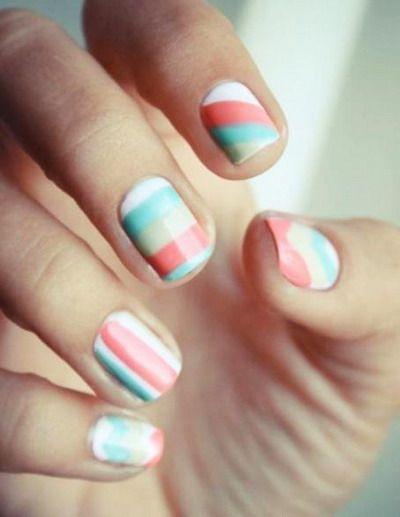 cute short nail designs easy