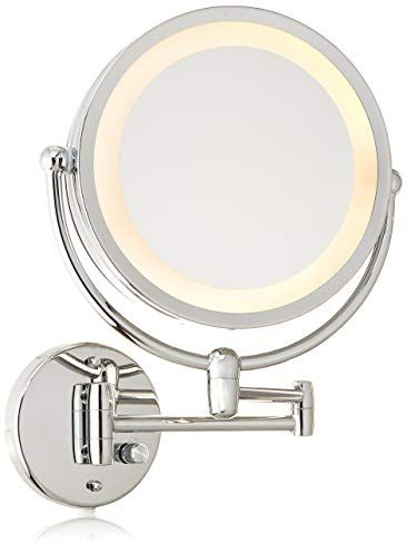 Danielle Revolving Wall Mounted Day Night Lighted Mirror 10x