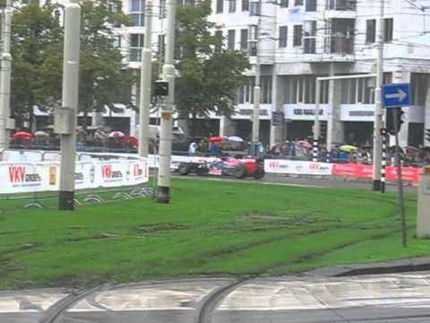 VKV City Racing Rotterdam - Max Verstappen driving in rain