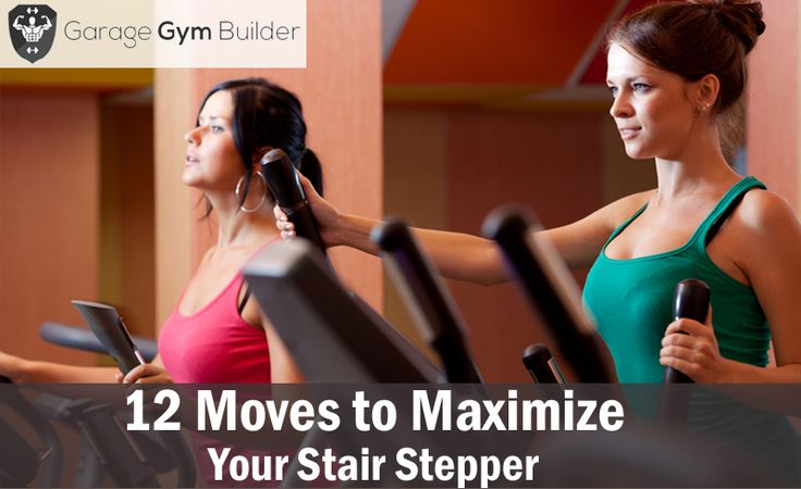 Mindlessly plodding back and forth, trying not to look at the time, can easily do your head in. For most people, it leads to simply giving up.  In this article you will discover 12 ways to keep your stair stepper #workout fresh, exciting and invigorating.