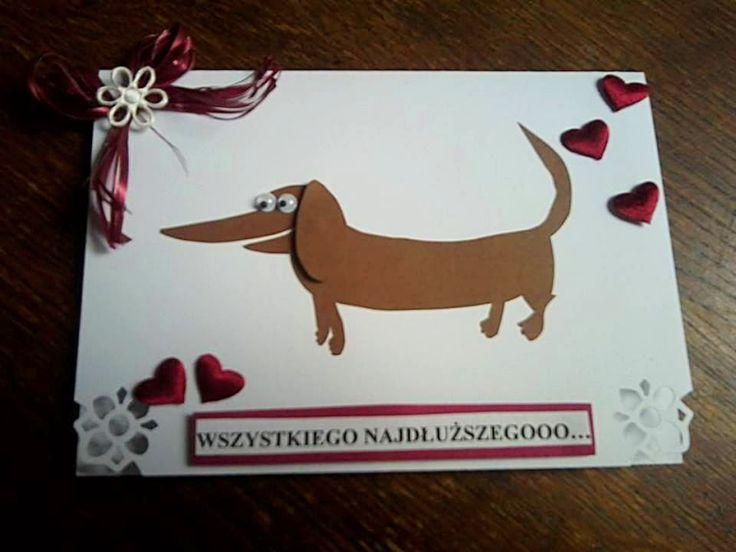 Urodzinowa kartka z wizerunkiem ulubionego psiaka